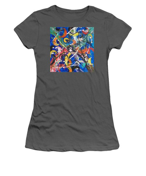 Fiesta Blue Women's T-Shirt (Athletic Fit)