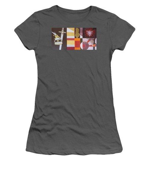Figurativ Albanian Simbols Women's T-Shirt (Athletic Fit)