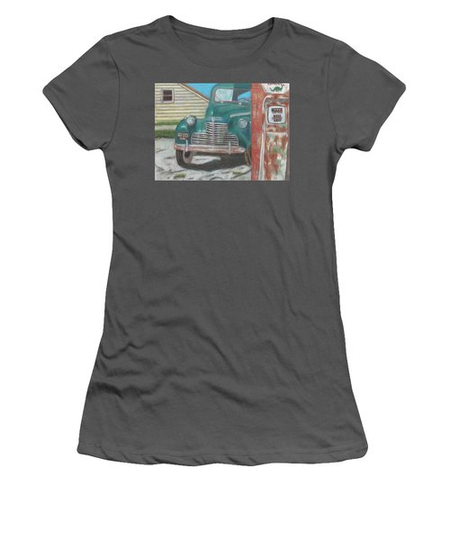 Fill 'er Up Women's T-Shirt (Junior Cut) by Arlene Crafton