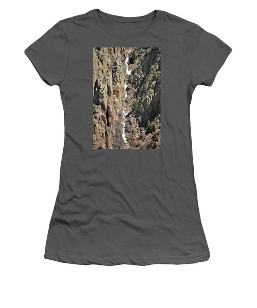 Final Traces Of Snow Women's T-Shirt (Athletic Fit)
