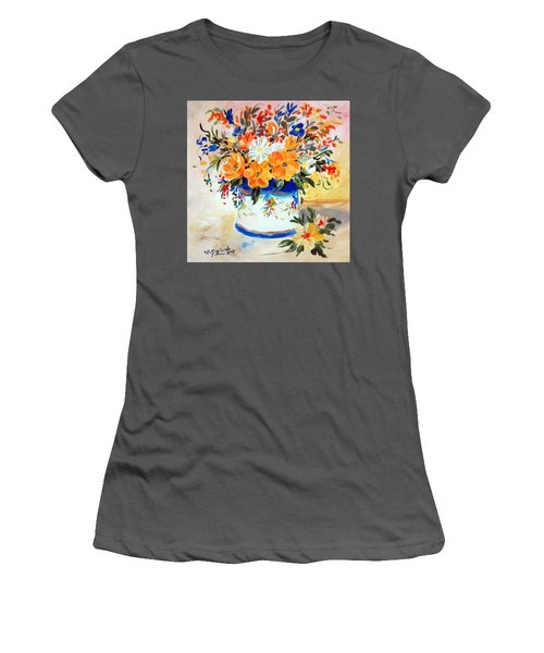 Fiori Gialli Natura Morta Women's T-Shirt (Junior Cut)