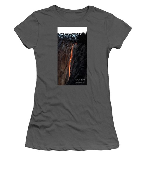 Fire Falls - 2016 Women's T-Shirt (Athletic Fit)