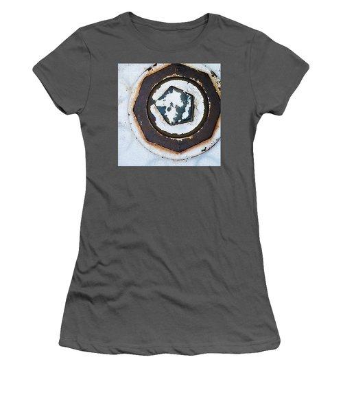 Fire Hydrant 9 Women's T-Shirt (Junior Cut) by Suzanne Lorenz