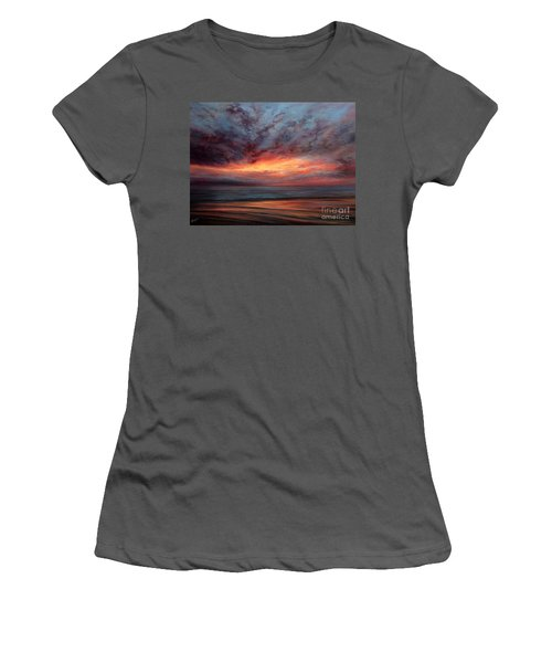 Fire In The Sky Women's T-Shirt (Athletic Fit)