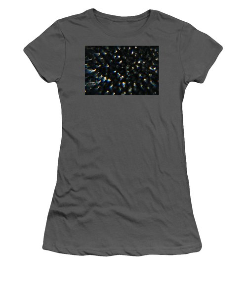 Women's T-Shirt (Athletic Fit) featuring the photograph Firebombing by Greg Collins