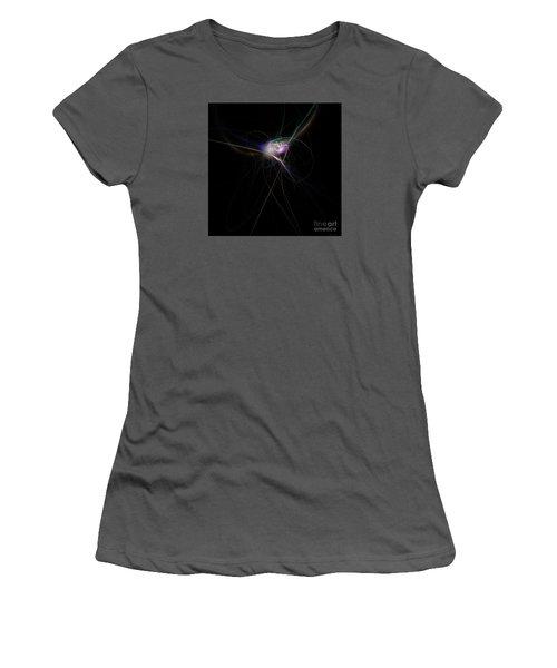 Firefly Scribble  Women's T-Shirt (Junior Cut) by Elizabeth McTaggart