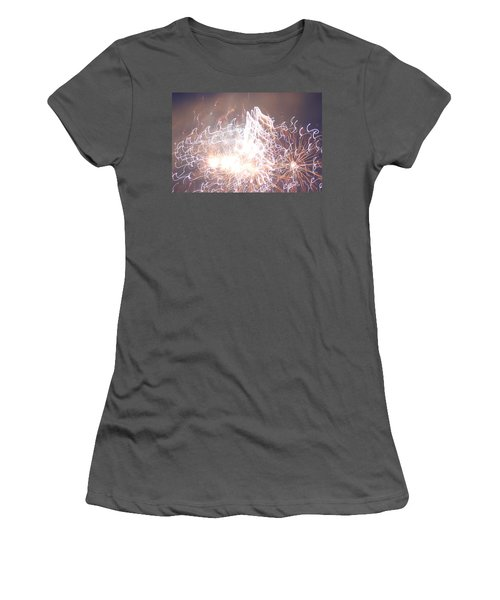 Fireworks In The Park 6 Women's T-Shirt (Athletic Fit)