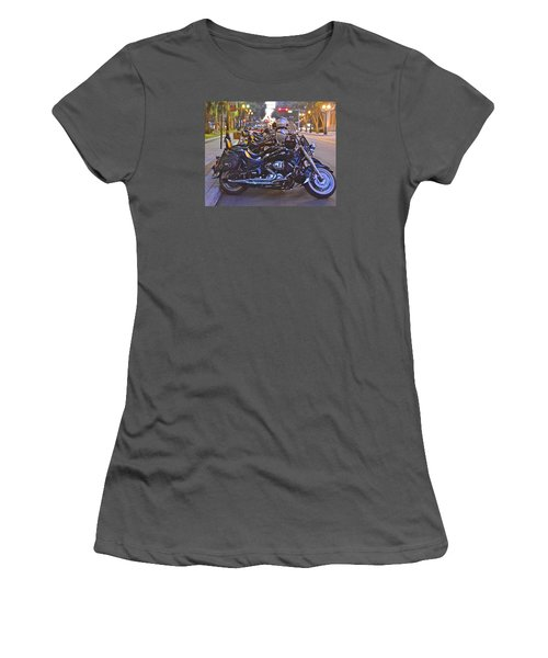 First Friday Bike Night Women's T-Shirt (Athletic Fit)