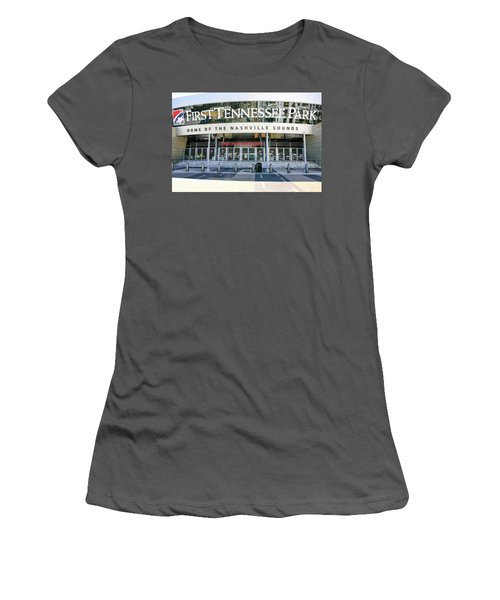 First Tennessee Park, Nashville Women's T-Shirt (Athletic Fit)
