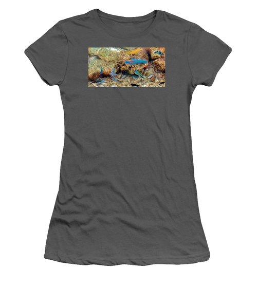 Fish Women's T-Shirt (Junior Cut) by Betty Buller Whitehead