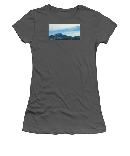 Fishers Peak Raton Mesa In Snow Women's T-Shirt (Junior Cut) by Christopher Kirby