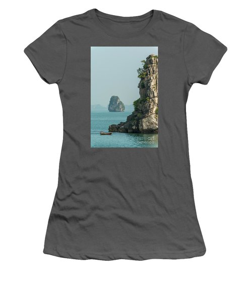 Fishing Boat 2 Women's T-Shirt (Junior Cut) by Werner Padarin