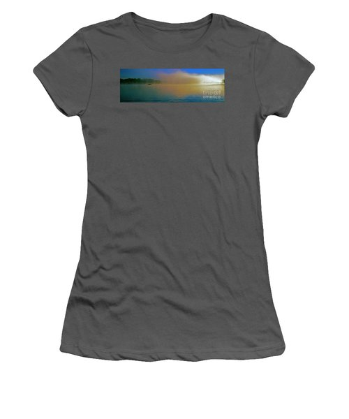 Fishing Boat Day Break  Women's T-Shirt (Athletic Fit)