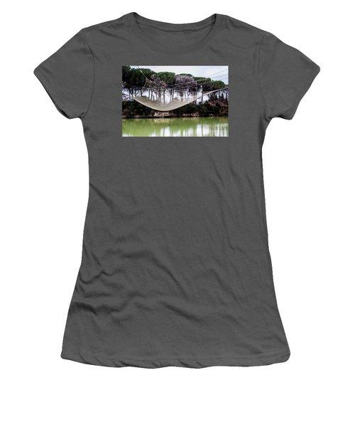 Fishing Net Women's T-Shirt (Junior Cut) by Ana Mireles