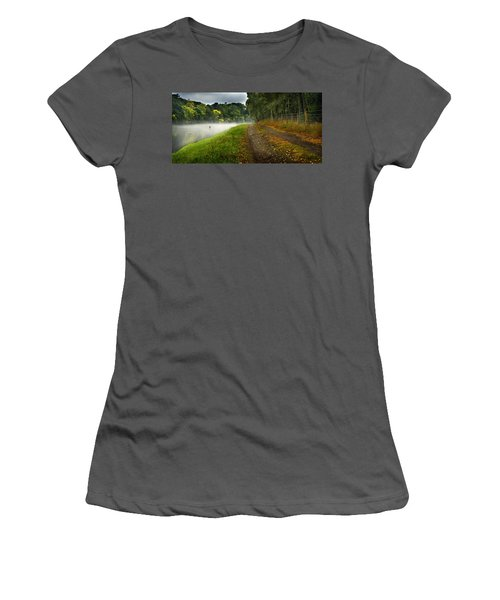 Fishing The River Beauly Women's T-Shirt (Athletic Fit)