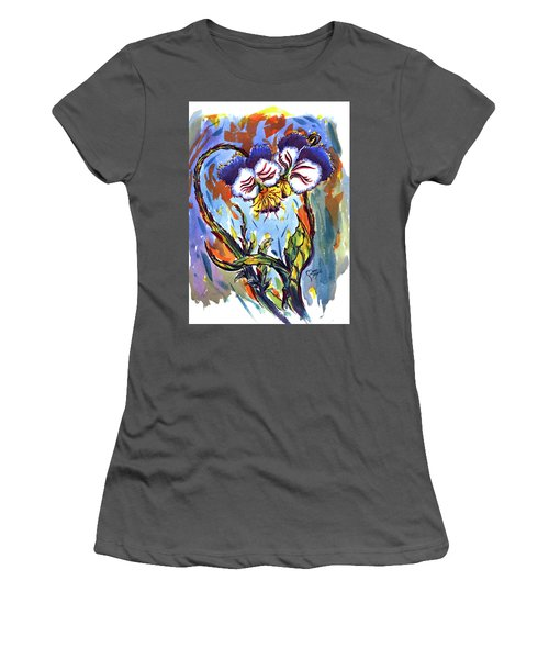Flames Of Love Women's T-Shirt (Athletic Fit)