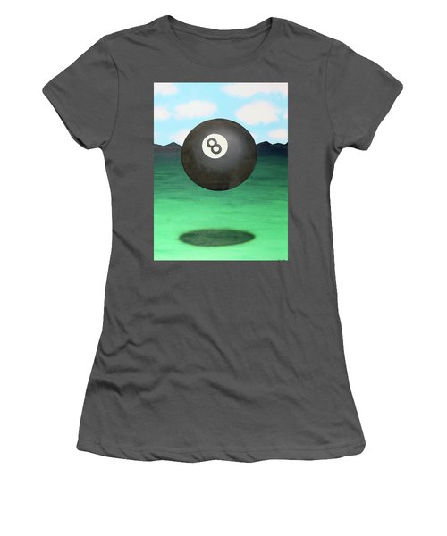 Floating 8 Women's T-Shirt (Junior Cut) by Thomas Blood