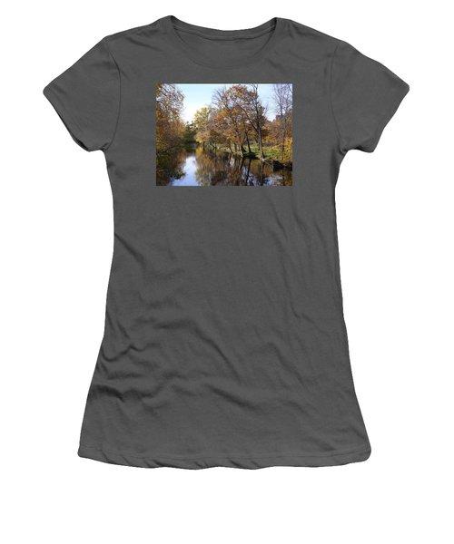 Flood Plain Women's T-Shirt (Athletic Fit)