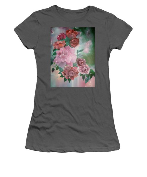 Floral Splendor Women's T-Shirt (Athletic Fit)