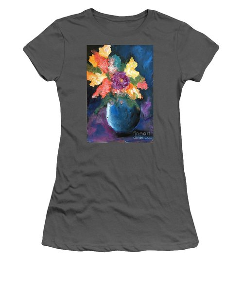 Floral Study 1 Women's T-Shirt (Athletic Fit)