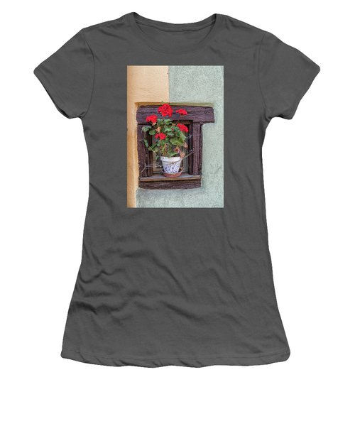Women's T-Shirt (Junior Cut) featuring the photograph Flower Still Life by Alan Toepfer