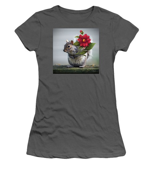 Flowers For You Women's T-Shirt (Athletic Fit)