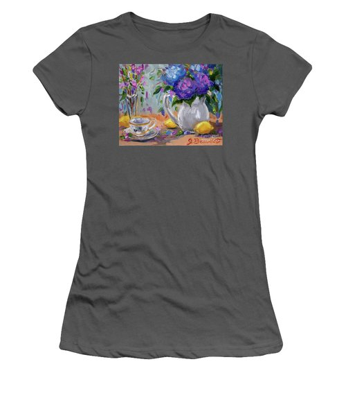 Flowers Lemons Women's T-Shirt (Athletic Fit)