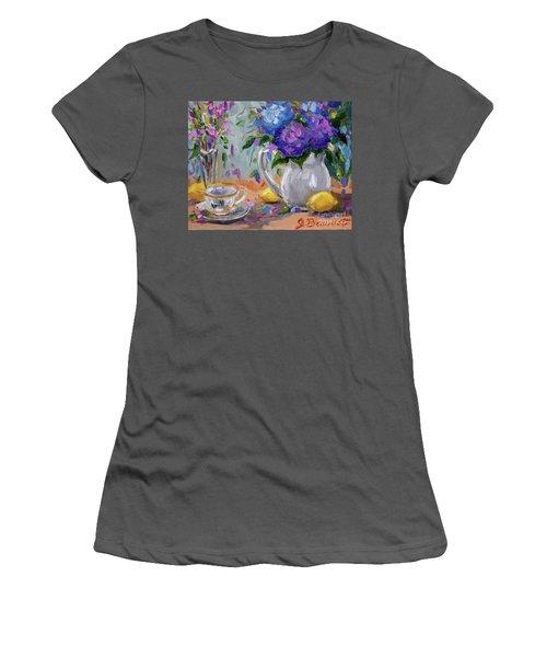 Flowers Lemons Women's T-Shirt (Athletic Fit)