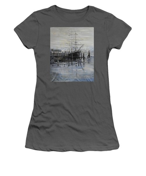 Fog Bound At Tillamok Women's T-Shirt (Athletic Fit)