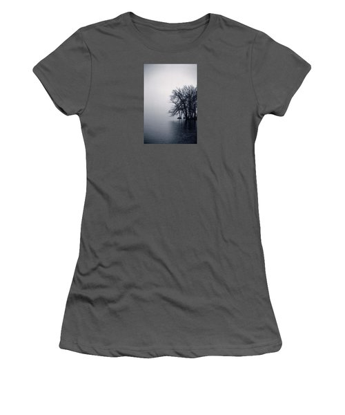 Fog Day Afternoon Women's T-Shirt (Athletic Fit)