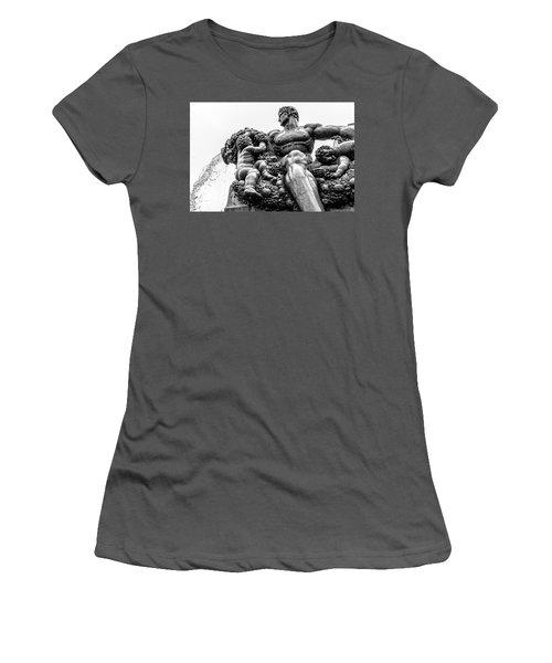 Fontana Di Piazza Solferino-1 Women's T-Shirt (Junior Cut)