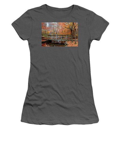 Foot Bridge Women's T-Shirt (Athletic Fit)