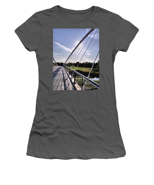 Footbridge 1 Women's T-Shirt (Athletic Fit)