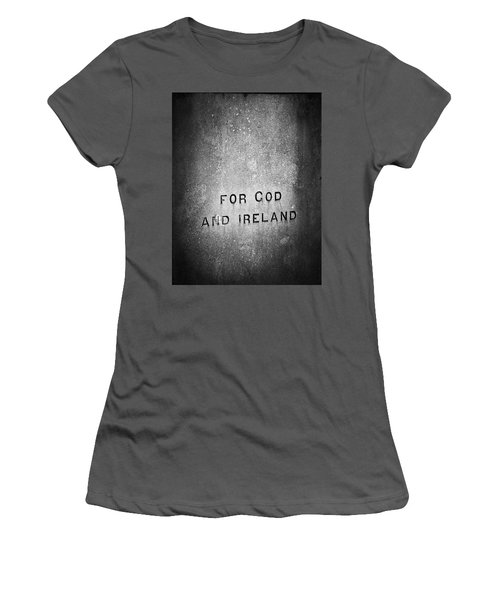 For God And Ireland Macroom Ireland Women's T-Shirt (Athletic Fit)
