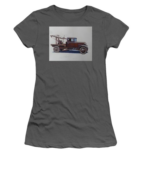 Ford A Type Wrecker. Women's T-Shirt (Junior Cut) by Mike  Jeffries