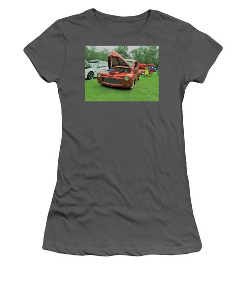Women's T-Shirt (Athletic Fit) featuring the photograph Ford Classic by Aaron Martens