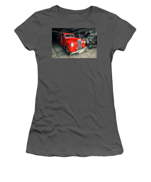 Women's T-Shirt (Junior Cut) featuring the photograph Ford Prefect by Charuhas Images