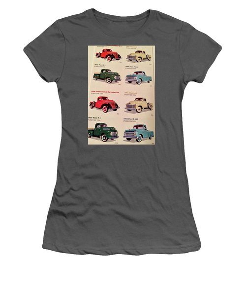 Ford Truck Stamps Women's T-Shirt (Athletic Fit)