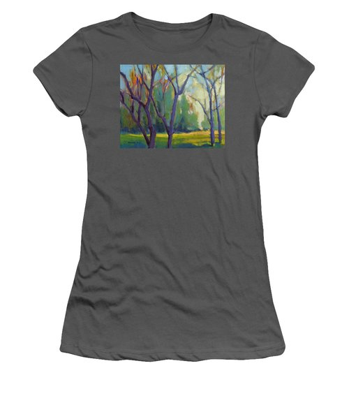 Forest In Spring Women's T-Shirt (Athletic Fit)