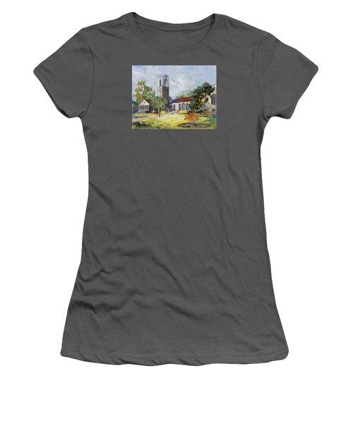 Forest Park Center - St. Louis Women's T-Shirt (Junior Cut) by Irek Szelag