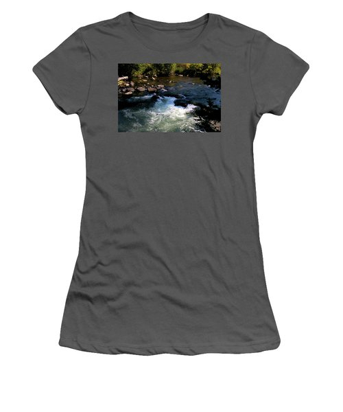 Forest Pool Women's T-Shirt (Athletic Fit)
