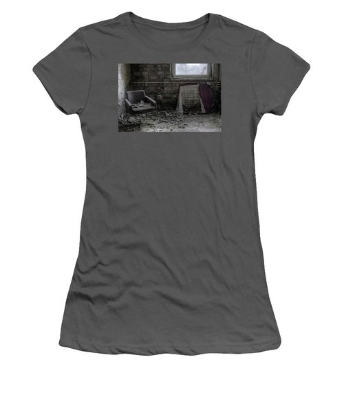 Women's T-Shirt (Junior Cut) featuring the digital art Forgotten Ideologies by Nathan Wright