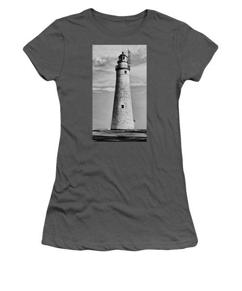 Fort Gratiot Lighthouse Women's T-Shirt (Athletic Fit)