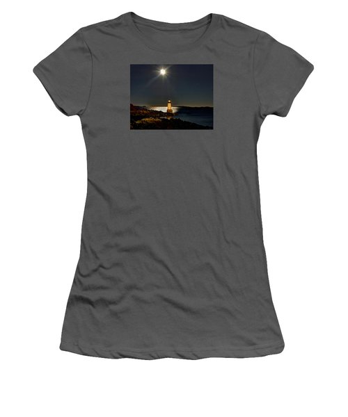 Fort Pickering Light 283 Women's T-Shirt (Athletic Fit)