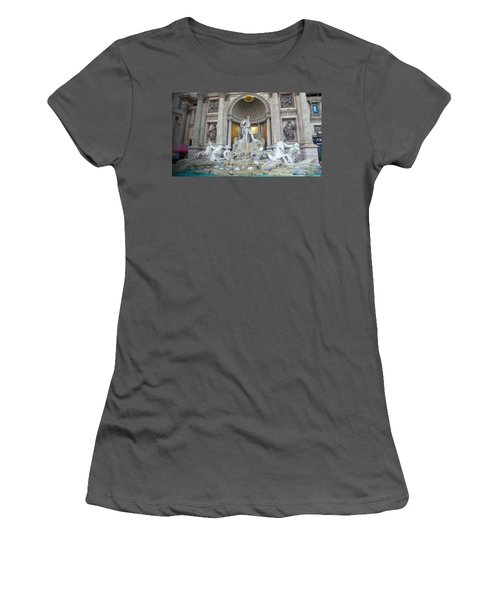 Forum Shops Statues At Ceasars Palace Women's T-Shirt (Athletic Fit)