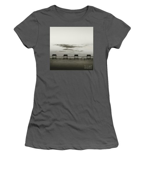Four On The Beach Women's T-Shirt (Athletic Fit)