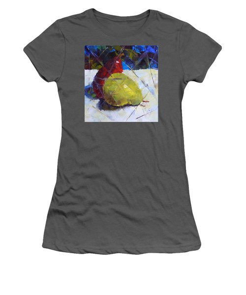 Fractured Pears Women's T-Shirt (Junior Cut) by Susan Woodward