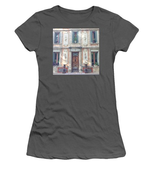 French Door Women's T-Shirt (Athletic Fit)