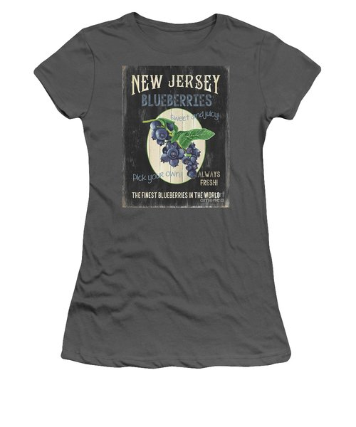 Fresh Berries 1 Women's T-Shirt (Athletic Fit)