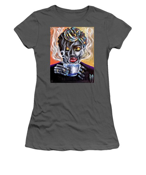 Fresh Brewed Women's T-Shirt (Athletic Fit)